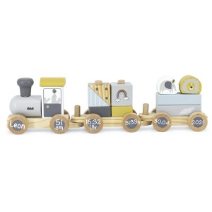 Holzzug Holz-Eisenbahn Zug | Tryco | Personalisiert