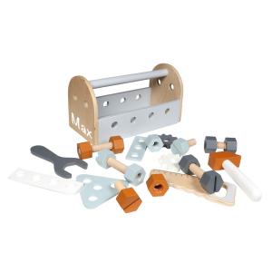 Holzspielzeug Werkzeugkiste   Tryco   Personalisiert