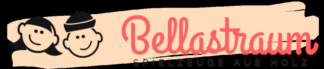 BellasTraum - Personalisiertes Holzspielzeug-Logo