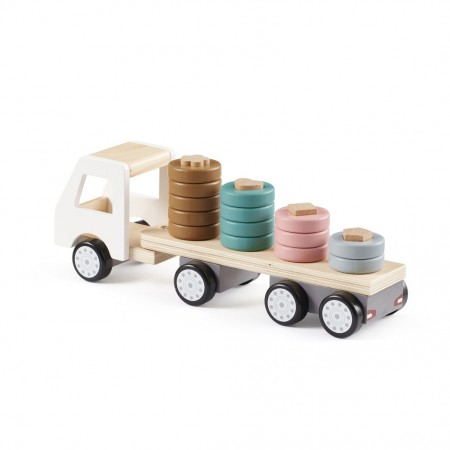 Kids Concept Ringspiel Holz Auto Laster Aiden Personalisiert