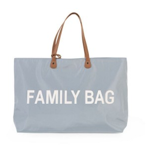 Family Bag Wickeltasche - grau | Childhome