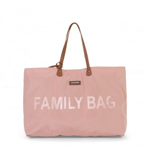 Family Bag Wickeltasche - rosa kupfer | Childhome