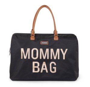 Mommy Bag Wickeltasche - Schwarz Gold | Childhome